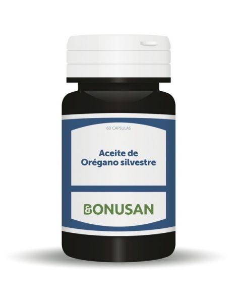 Aceite de Orégano Silvestre Bonusan - 60 cápsulas