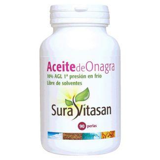 Aceite de Onagra 500 mg. 10% AGL Sura Vitasan - 90 perlas