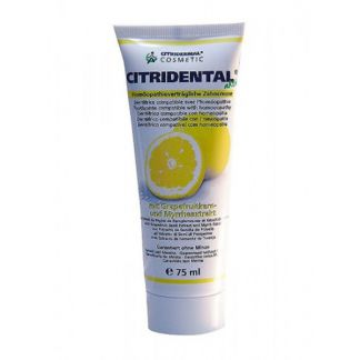 Dentífrico Citrobiotic Citridental Sanitas - 75 ml.