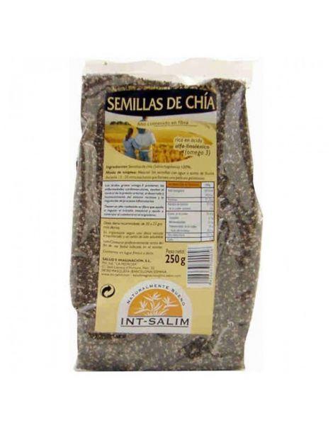 Semillas de Chía Ecológicas Int-Salim - 250 gramos