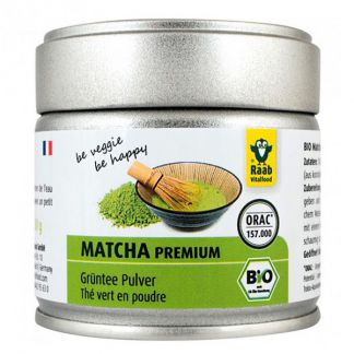 Té Matcha Bio Raab - 30 gramos