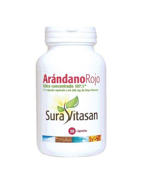 Arándano Rojo 600 mg. Sura Vitasan - 30 cápsulas