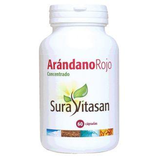 Arándano Rojo 600 mg. Sura Vitasan - 60 cápsulas