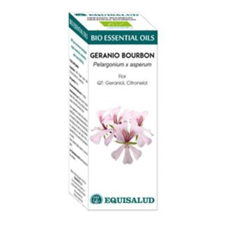 Bio Essential Oil Geranio Bourbon Equisalud - 10 ml.