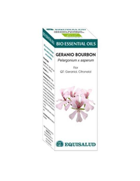 Bio Essential Oil Geranio Bourbon Equisalud - 10 ml.