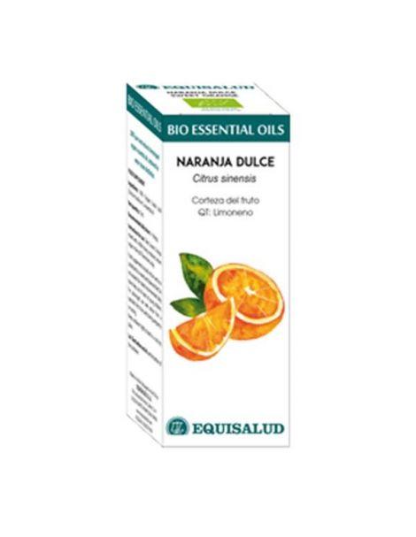 Bio Essential Oil Naranja Dulce Equisalud - 10 ml.