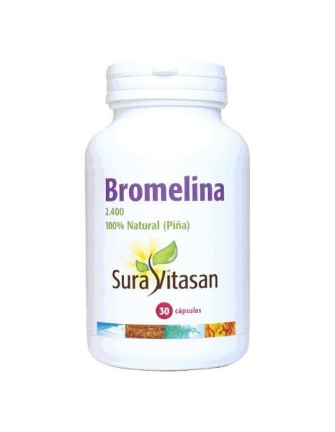 Bromelina 2400 500 mg. Sura Vitasan - 30 cápsulas