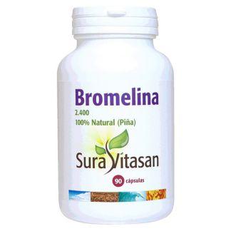 Bromelina 2400 500 mg. Sura Vitasan - 90 cápsulas