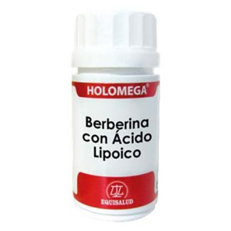 Holomega Berberina con Ácido Lipoico Equisalud - 50 cápsulas