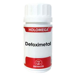 Holomega Detoximetal Equisalud - 50 cápsulas