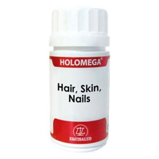 Holomega Hair, Skin, Nails Equisalud - 180 cápsulas
