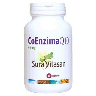 Co-Enzima Q10 60 mg. (Ubiquinone de Japón) Sura Vitasan - 30 cápsulas