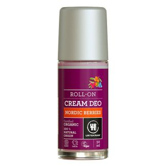 Desodorante Roll-on Frutos Rojos Nórdicos Urtekram - 50 ml.
