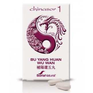 Chinasor 01 BU YANG HUAN WU WAN Soria Natural  - 30 comprimidos