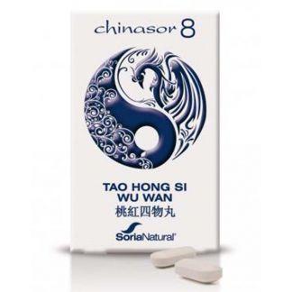 Chinasor 08 TAO HONG SI WU WAN Soria Natural  - 30 comprimidos