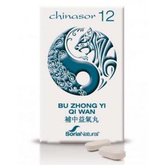 Chinasor 12 BU ZHONG YI QI WAN Soria Natural  - 30 comprimidos