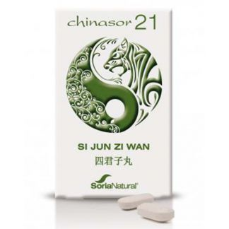 Chinasor 21 SI JUN ZI WAN Soria Natural  - 30 comprimidos