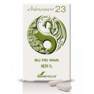 Chinasor 23 BU FEI WAN Soria Natural  - 30 comprimidos