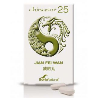 Chinasor 25 JIAN FEI WAN Soria Natural  - 30 comprimidos