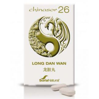 Chinasor 26 LONG DAN WAN Soria Natural  - 30 comprimidos