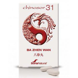 Chinasor 31 BA ZHEN WAN Soria Natural  - 30 comprimidos