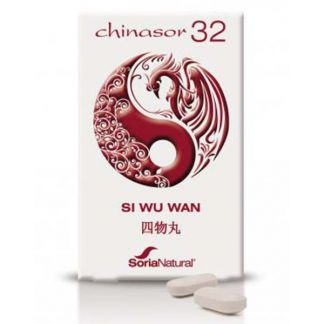 Chinasor 32 SI WU WAN Soria Natural  - 30 comprimidos