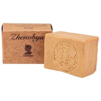 Jabón de Alepo 6% Zhenobya - pastilla de 200 gramos