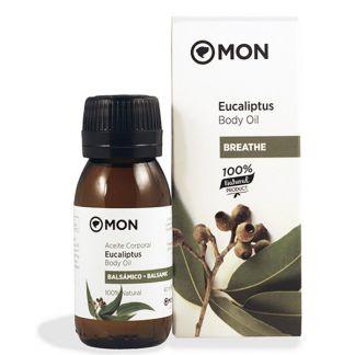 Aceite Corporal de Eucaliptus Mon - 60 ml.