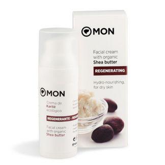 Crema Facial Regenerante de Karité Mon - 50 ml.