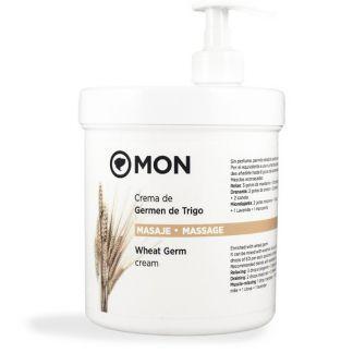 Crema de Masaje de Germen de Trigo Mon - 1000 ml.