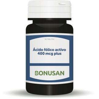 Acido Fólico Activo 400 mcg. Bonusan - 90 tabletas