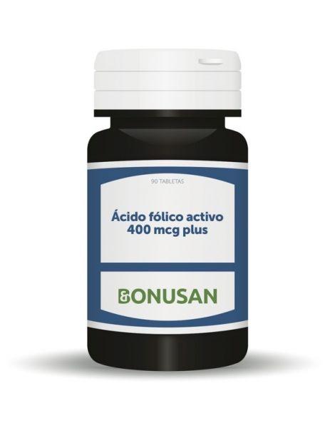 Ácido Fólico Activo 400 mcg. Bonusan - 90 tabletas