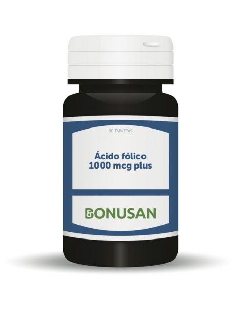 Acido Fólico 1000 mcg. Plus Bonusan - 90 tabletas