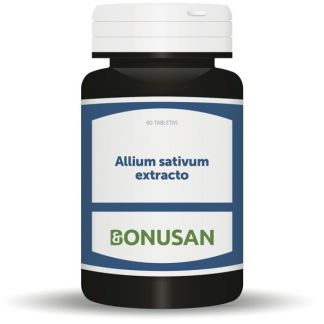 Allium Sativum Extracto Bonusan - 60 tabletas