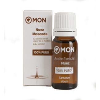 Aceite Esencial de Nuez Moscada Mon - 10 ml.