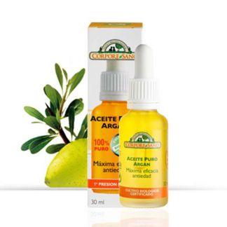 Aceite de Argán 100% Puro Corpore Sano - 30 ml.