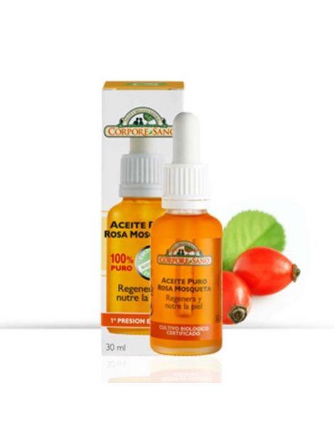 Aceite de Rosa Mosqueta 100% Puro Corpore Sano - 30 ml.