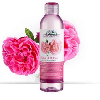 Tónico Agua de Rosas Corpore Sano - 200 ml.