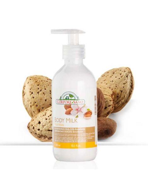 Body Milk Almendras Dulces Corpore Sano - 300 ml.