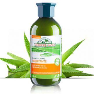 Champú Hidratante Aloe Vera y Malvavisco Corpore Sano - 300 ml.