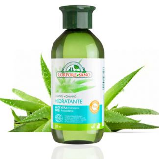 Champú Hidratante Aloe Vera y Goji Corpore Sano - 300 ml.