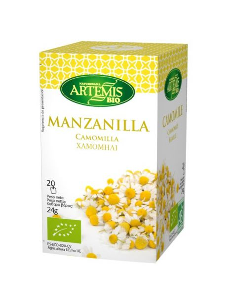 Manzanilla Artemis Herbes del Molí - 20 bolsitas