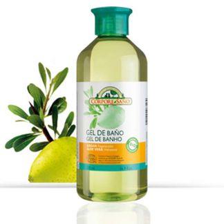 Gel de Baño Argán y Aloe Vera Corpore Sano - 500 ml.