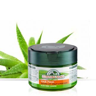 Mascarilla Capilar de Aloe Vera y Enebro Corpore Sano - 250 ml.