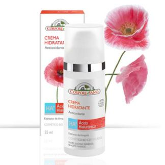 Crema HA+ Hidratante Antioxidante Corpore Sano - 55 ml.