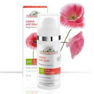 Crema HA+ Age Delay Regenera e Ilumina Corpore Sano - 55 ml.