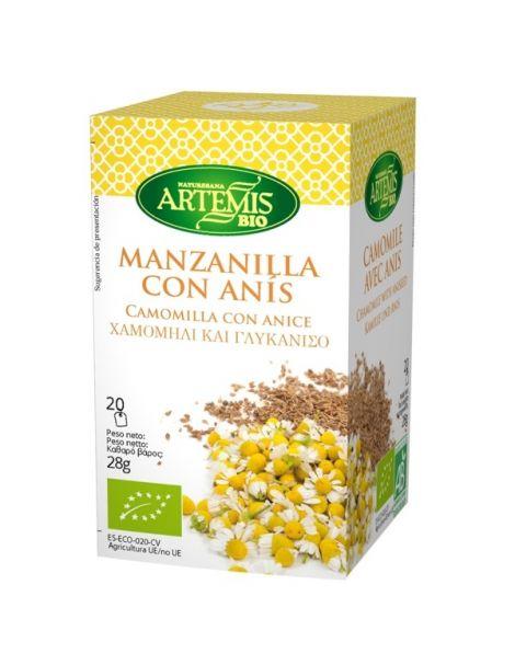 Manzanilla con Anís Artemis Herbes del Molí - 20 bolsitas