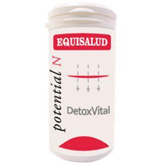 DetoxVital Equisalud - 60 cápsulas