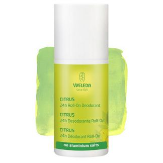 Desodorante Roll-On de Citrus Weleda - 50 ml.