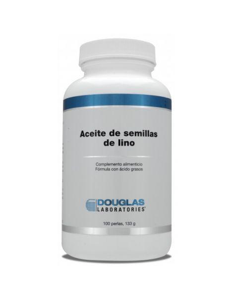 Aceite de Semillas de Lino Douglas - 100 perlas